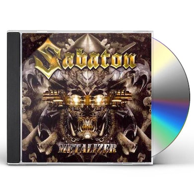 Sabaton METALIZER (RE-ARMED) CD