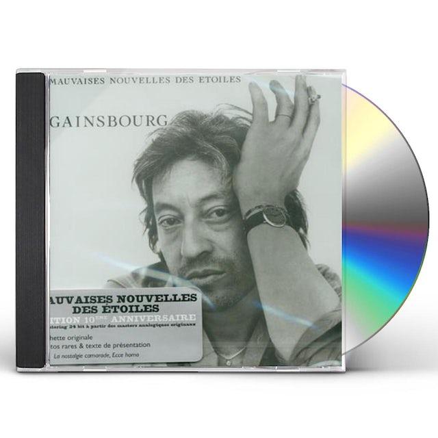 Serge Gainsbourg MAUVAISES NOUVELLES DES ETOILES CD