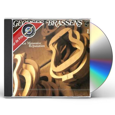 Georges Brassens MAUVAISE REPUTATION (VOL1) CD