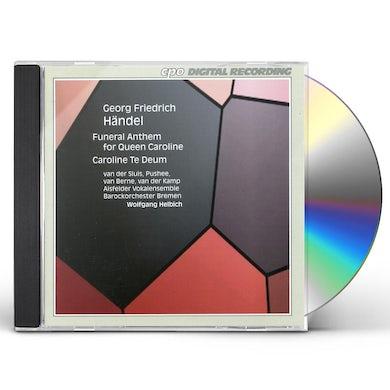 Handel ANTHEM FOR QUEEN CAROLINE CD