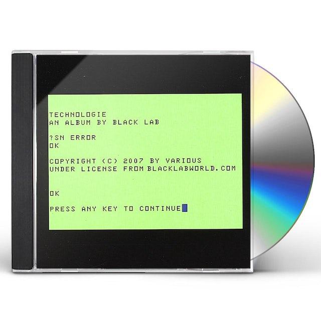 Black Lab TECHNOLOGIE CD