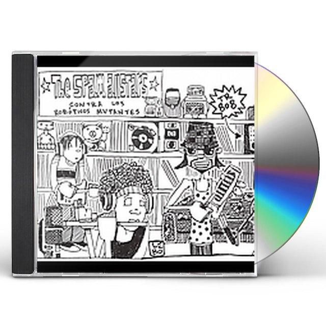 Spam Allstars CONTRA LOS ROBOTICOS MUTANTES CD
