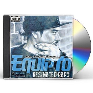 Equipto RESINATED RAPS / MILLION DOLLAR REMIX SERIES VOL.3 CD