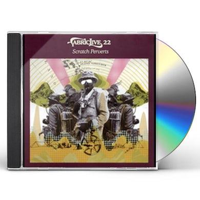 Scratch Perverts FABRIC LIVE 22 CD