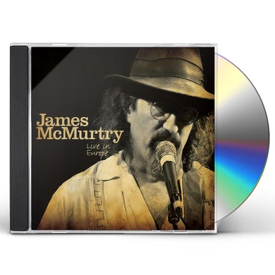 James Mcmurtry LIVE IN EUROPE CD