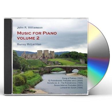 John Williamson MUSIC FOR PIANO 2 CD