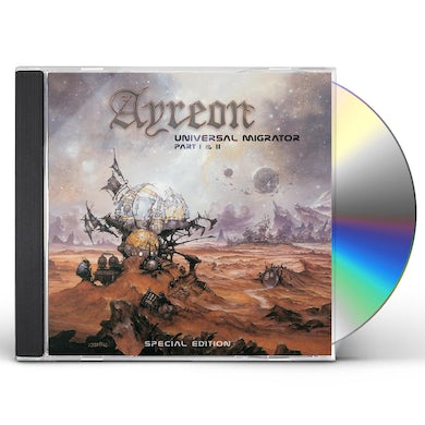 Ayreon UNIVERSAL MIGRATOR PART I & II CD