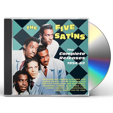 Five Satins COMPLETE RELEASES 1954-62 CD