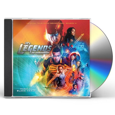 Blake Neely DC'S LEGENDS OF TOMORROW - SSN 2: LIMITED (SCORE) CD