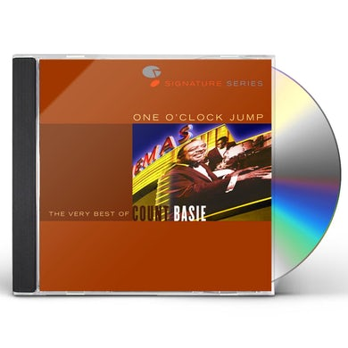 Count Basie JAZZ SIGNATURES - ONE O'CLOCK JUMP: VERY BEST OF CD