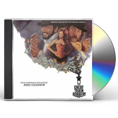 Jerry Goldsmith GREAT TRAIN ROBBERY / Original Soundtrack CD