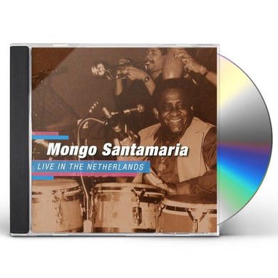 Mongo Santamaria LIVE IN THE NETHERLANDS CD