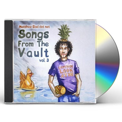Matthew Ebel SONGS FROM THE VAULT 3 CD