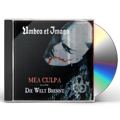 MEA CULPA / DIE WELT BRENNT CD
