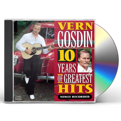 Vern Gosdin 10 YEARS OF GREATEST HITS CD