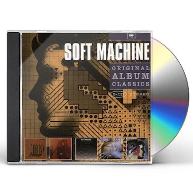 Soft Machine ORIGINAL ALBUM CLASSICS CD