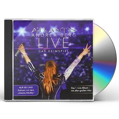 Andrea Berg ATLANTIS-LIVE DAS HEIMSPIEL CD