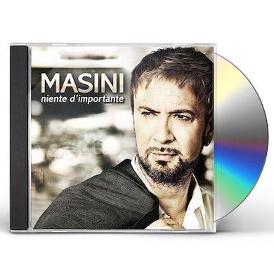Marco Masini NIENTE D'IMPORTANTE CD