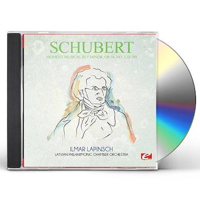 Schubert MOMENT MUSICAL IN F MINOR OP. 94 NO. 3 D.780 CD