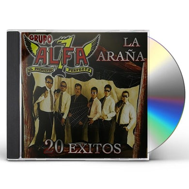 Grupo Alfa 7 LA ARANA: 20 EXITOS CD