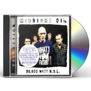20,000 WATT RSL: MIDNIGHT OIL COLLECTION CD