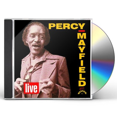 Percy Mayfield LIVE CD