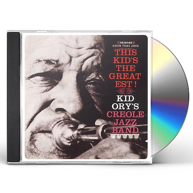 Kid Ory THIS KID'S THE GREATEST CD