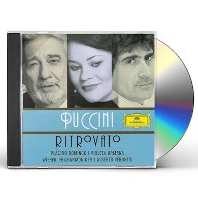 Placido Domingo PUCCINI RITROVATO CD