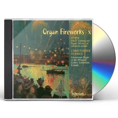 Christopher Herrick ORGAN FIREWORKS 10 CD