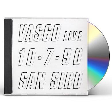 Vasco Rossi VASCO LIVE 10-07-90 SAN SIRO CD