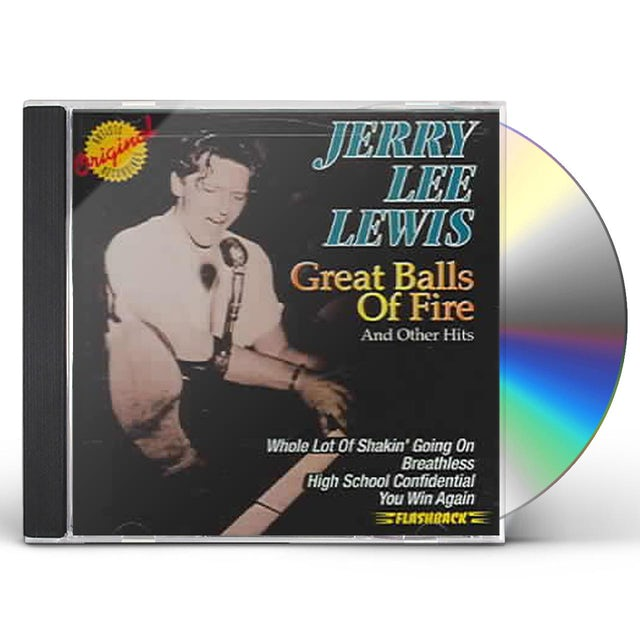 Jerry Lee Lewis GREAT BALLS OF FIRE & OTHER HITS CD