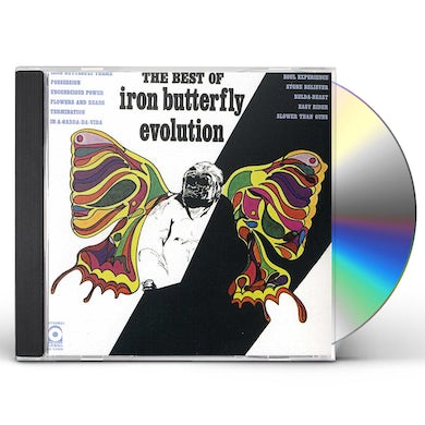 BEST OF IRON BUTTERFLY EVOLUTION CD