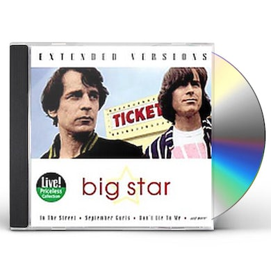 Big Star EXTENDED VERSIONS CD