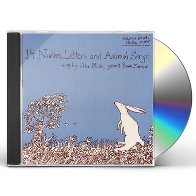 Alan Mills 14 NUMBERS, LETTERS, AND ANIMAL SONGS CD