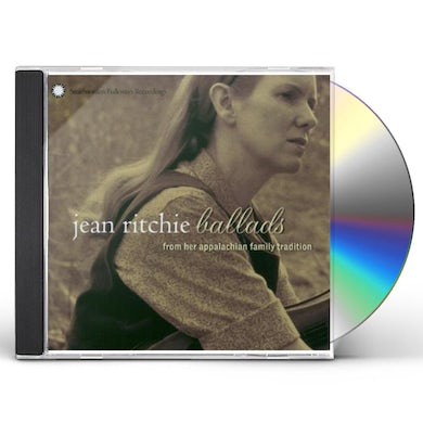 Jean Ritchie BALLADS FROM HER APPALACHIAN FAMILY TRADITION CD