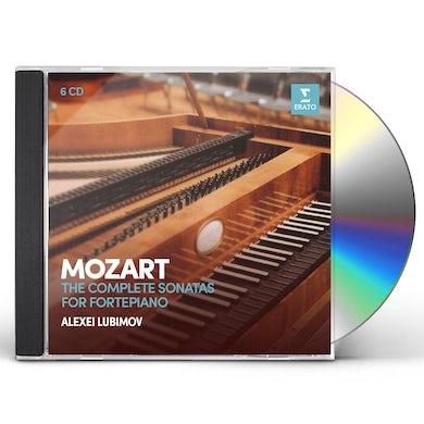 Alexei Lubimov MOZART: COMPLETE SONATAS FOR PIANOFORTE CD