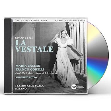 Maria Callas SPONTINI: LA VESTALE (MILANO 07/12/1954) CD