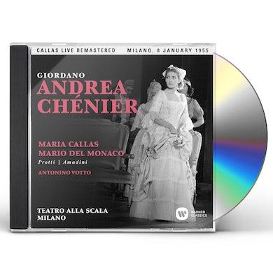 Maria Callas GIORDANO: ANDREA CHENIER (MILANO 08/01/1955) CD
