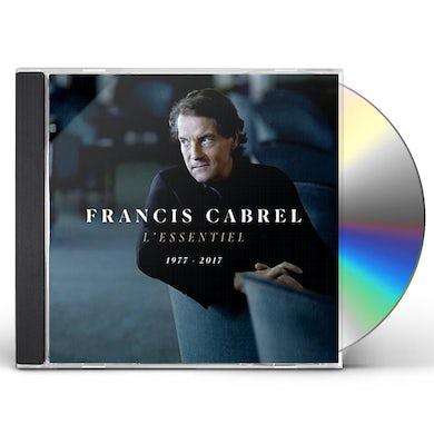 Francis Cabrel L'ESSENTIEL 1977-2017 CD