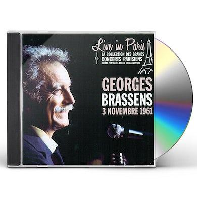 Georges Brassens LIVE IN PARIS 03 NOVEMBRE 1961 CD