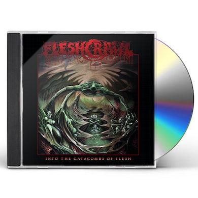 Fleshcrawl INTO THE CATACOMBS OF FLESH CD