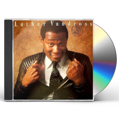 Luther Vandross NEVER TOO MUCH CD