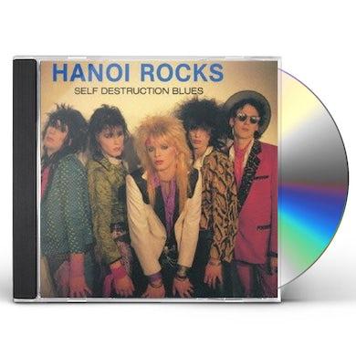 Hanoi Rocks SELF DESTRUCTION BLUES CD