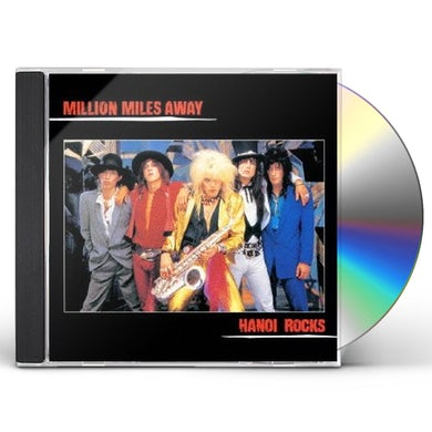 Hanoi Rocks MILLION MILES AWAY CD