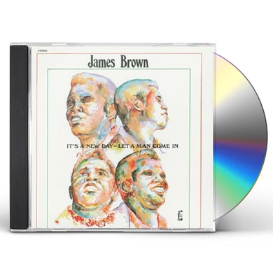 James Brown IT'S A NEW DAY-LET A MAN COME IN CD