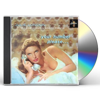 Julie London YOUR NUMBER PLEASE CD