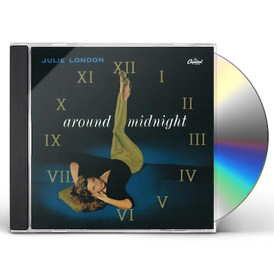 Julie London AROUND MIDNIGHT CD