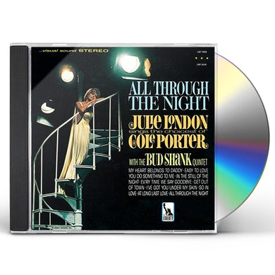 Julie London ALL THROUGH THE NIGHT CD