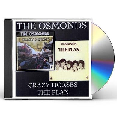 Osmonds CRAZY HORSES: PLAN CD