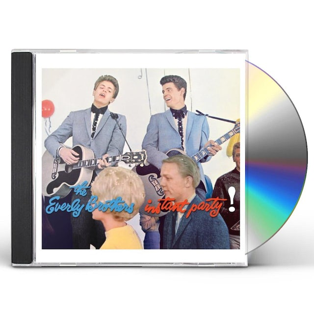The Everly Brothers INSTANT PARTY CD